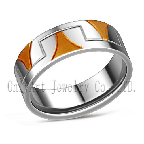 top quality stailess steel ring with unique design wholesale OATR0327