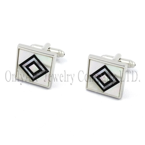 2014 new style fashion cufflinks with shell Wholesale & Retail